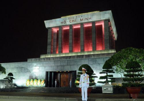 Ho Chi Minh Mausolum-Hanoi Beauty At Night
