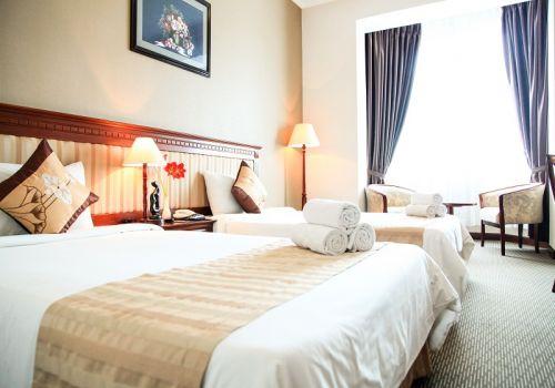 Twin Family-Starcity Suoi Mo Hotel
