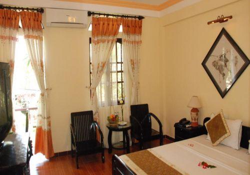 Deluxe Double Room-Pho Hoi Riverside Resort