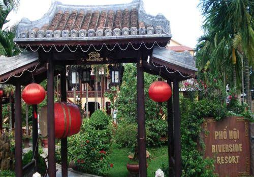 Entrance-Pho Hoi Riverside Resort