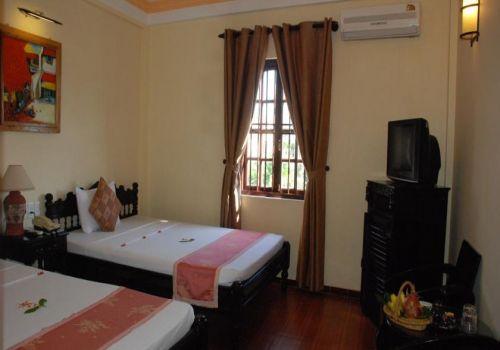 Twin Deluxe Room-Pho Hoi Riverside Resort