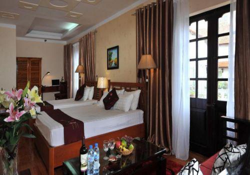 Twin Deluxe Room-Sapa Eden Hotel